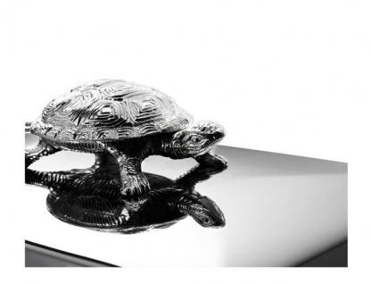Casa Padrino Luxus Beauté Box Schildkröte 33 x 22 x H. 13, 5 cm - Schmuckkasten - Schmuckkästchen - Schmuckschatulle - Vorschau 4