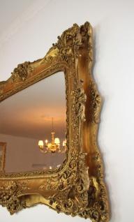 Casa Padrino Barock Spiegel Gold Antik Stil mit Doppelrahmen - 120 x 105 cm - Edel & Prunkvoller Wandspiegel - Vorschau 2