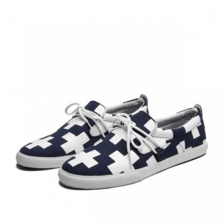 SUPRA Skateboard Styler Schuhe Belay Navy/White Cross