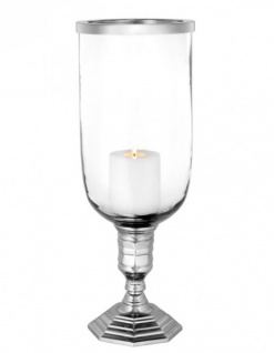 Casa Padrino Designer Kerzenleuchter Durchmesser 17, 5 x H. 48 cm - Luxus Kerzenhalter