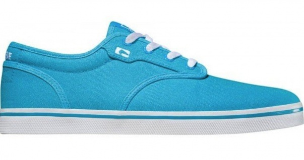 Globe Skateboard Schuhe Motley Highlighter Blue