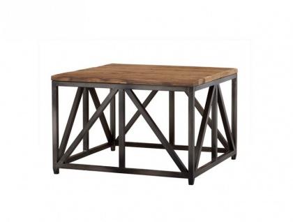 Casa Padrino Luxus Art Deco Designer Beistelltisch 75 x 75 x H. 50 cm - Hotel Tisch Möbel
