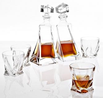 Casa Padrino Kristallglas Whisky / Cognac 6er Set - Luxus Hotel & Restaurant Accessoires