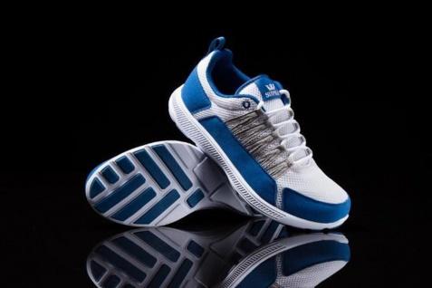 SUPRA Skateboard Schuhe Owen Fast White / Blue / Grey