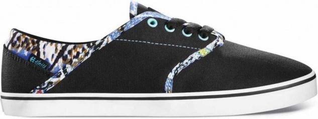 Etnies Skateboard Damen Schuhe Caprice Black/Blue