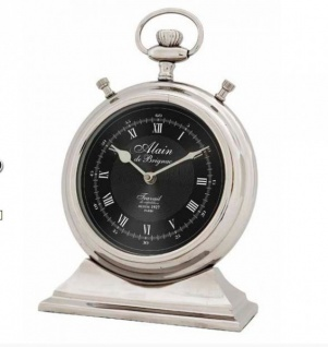 Casa Padrino Designer Luxus Uhr Main De Brignac DEPUIS 1927 PARIS ø 13 x H. 20 cm - Edel & Prunkvoll - Vorschau 2