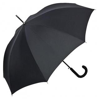 Jean Paul Gaultier Luxus Designer Regenschirm in elegantem schwarz - Luxus Design - Eleganter Stockschirm - Vorschau 1