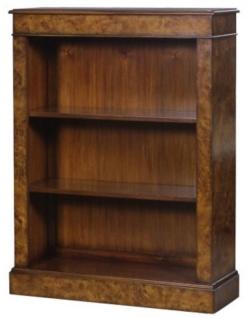 Casa Padrino Luxus Bücherschrank Braun 91 x 31 x H. 123 cm - Luxus Büromöbel