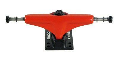 Core Skateboard Achsen Set 5.0 rot/schwarz (2 Achsen)
