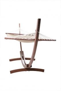 Casa Padrino Hängeschaukel aus Eucalyptus Holz Hängematte - Vintage Hänge Schaukel Matte Schwebeliege - Vorschau 1