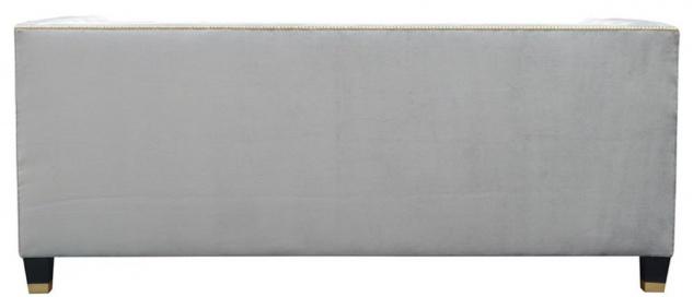 Casa Padrino Luxus Chesterfield Wohnzimmer Sofa 200 x 84 x H. 83 cm - Verschiedene Farben - Luxus Möbel - Vorschau 5