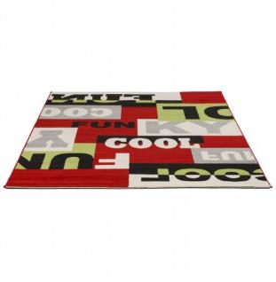 Casa Padrino Designer Teppich 160 x 230 cm Cool & Funky - Läufer - Vorschau 4