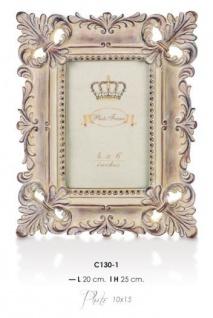 Casa Padrino Barock Bilderrahmen 25 x 20 cm Antik Look - Bilder Rahmen Foto Rahmen Jugendstil Antik Stil Mod AX20