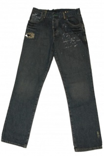 Hurley X Skateboard Jeans Hose 1984 Fit Blue Pants
