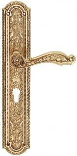 Casa Padrino Jugendstil Türgriff Set Französisches Gold 16 x H. 35, 2 cm - Hotel & Restaurant Accessoires