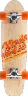 Mindless Daily Grande Oldschool Skateboard Profi Komplettboard Street Cruiser Natural mit Koston Kugellagern - Old School Komplett Skateboard