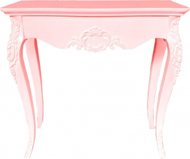 Casa Padrino Luxus Barock Konsole - Verschiedene Farben - Handgeferigter Massivholz Konsolentisch - Barock Möbel