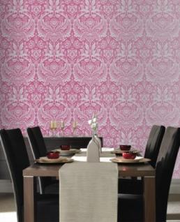 Graham & Brown Barock Tapete Desire 50-024 Pink / Silber - Vorschau 5