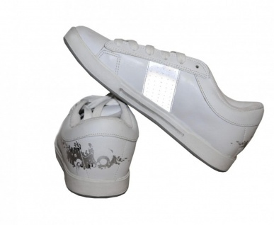 Osiris Skateboard Schuhe Volley Girls White / Silver Sneakers Shoes - Vorschau 2