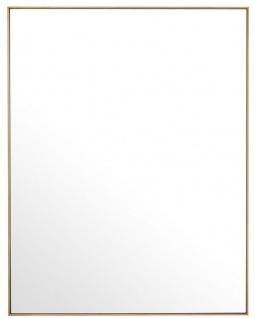 Casa Padrino Luxus Spiegel / Wandspiegel Messingfarben 180 x H. 140 cm - Garderobenspiegel - Wohnzimmer Spiegel - Luxus Qualität - Vorschau 2