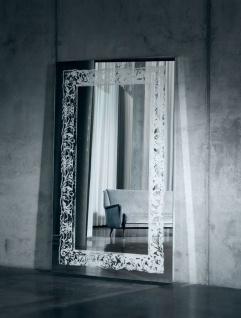 Casa Padrino Luxus Spiegel mit Licht und Fernbedienung 107 x H. 182 cm - Luxus Qualität