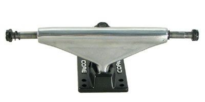 Core Skateboard Achsen Set 5.3 silber/schwarz (2 Achsen)