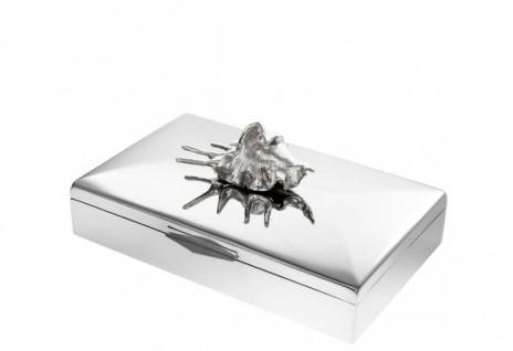 Casa Padrino Luxus Beauté Box Muschel 33 x 22 x H. 13, 5 cm - Luxus Schmuckkasten
