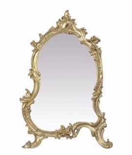 Casa Padrino Barock Spiegel Gold H. 56 x B. 37cm - Barock Wandspiegel