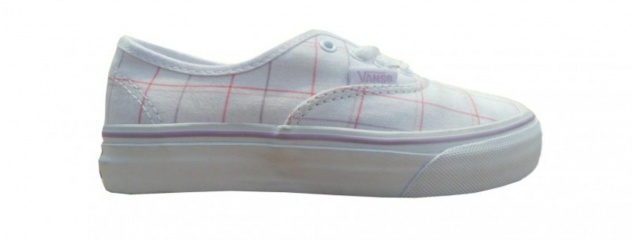 Vans Skateboard Schuhe Authentik True White/Fair Orchid