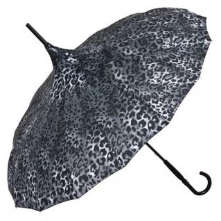 MySchirm Designer Regenschirm Pagode im Schlangenlook Model Paris - Jugendstil Design - Eleganter Stockschirm