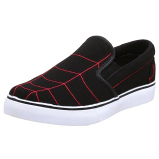Osiris Scoop Skateboard Schuhe / Slip On Scoop Osiris Weiß/schwarz- Slipper Slip Ons fada22