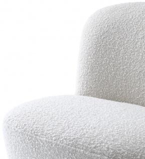 Casa Padrino Luxus Drehsessel Weiß 67 x 71 x H. 75 cm - Club Sessel - Luxus Kollektion - Vorschau 4