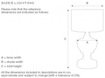 Casa Padrino Designer Tischleuchte / Tischlampe - Luxus Wohnzimmermöbel - Vorschau 2