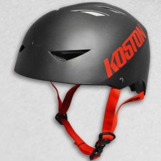 Koston Skateboard / Scooter / Inliner / Rollschuh Schutz Helm - Schwarz - Bmx, Inliner, Longboard Helm - Schutzausrüstung Skateboard Helm - Vorschau 2