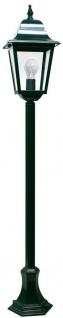 Casa Padrino Jugendstil Gartenlaterne / Terrassenlaterne 20 x 20 x H. 116 cm - Verschiedene Farben - Barock & Jugendstil Garten Terrassen Wege Einfahrt Beleuchtung