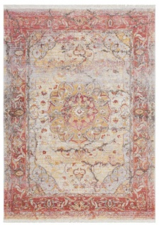 Casa Padrino Vintage Teppich Mehrfarbig - Verschiedene Größen - Rechteckiger Wohnzimmer Teppich - Deko Accessoires