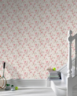 Graham & Brown Barock Landhaus Stil Tapete Rose Cottage Vliestapete Vlies Tapete Mod 50-447