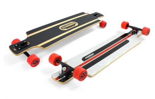Hammond Complete Longboard Drop Through Komplettboard B-40 - Dropthrough Profi Longboard mit Koston Kugellagern
