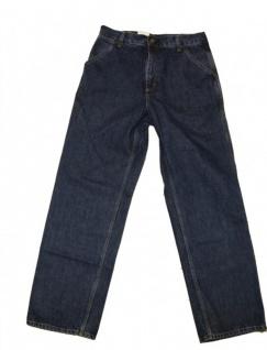 Carhartt Skateboard Jeans Hose Simple Pant Fresno Pure Indigo Blue