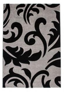 Casa Padrino Design Teppich Silber - Designer Teppich