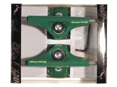 Krown Skateboard Achsen Set 5.0 Fresh grün (2 Achsen)