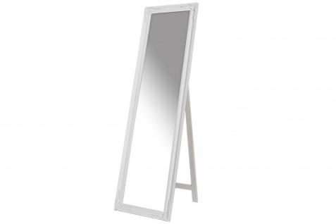 Casa Padrino Luxus Standspiegel 160 cm - Designer Spiegel - Weiss
