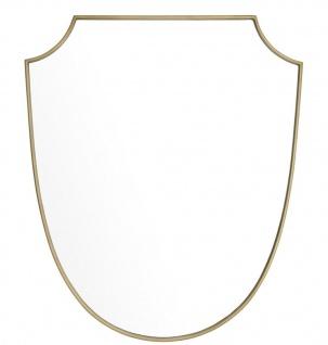 Casa Padrino Luxus Spiegel Messing 61 x H. 72 cm - Designer Wandspiegel