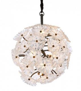 Casa Padrino Luxus Leuchte - Luxus Antik Messing Hängeleuchte Durchmesser 80 x H 80 cm