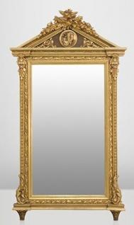 Casa Padrino Barock Wand Spiegel Gold H 204 cm B 113 cm - Edel & Prunkvoll - Vorschau 1