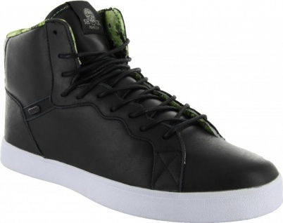 Osiris Skateboard Schuhe Grounds Black/Green/Shock