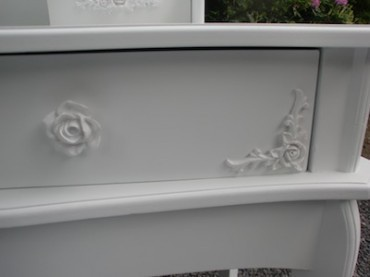 Casa Padrino Schminktisch Shabby Chic Landhaus Stil Look Modell Roses - Vorschau 2