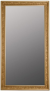 Casa Padrino Barock Spiegel Gold 72 x H. 132 cm - Handgefertigter Barock Wandspiegel