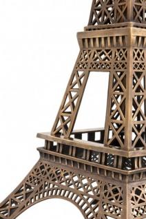 Casa Padrino Luxus Standleuchte Eiffelturm Messingfarben - Massives Metall - Leuchte Lampe - Tischleuchte Tischlampe, Stehleuchte, Stehlampe - Vorschau 4