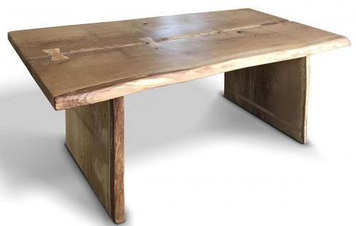 Casa Padrino Luxus Massivholz Esstisch 200 x 100 x H. 77 cm - Verschiedene Farben - Rustikaler Küchentisch - Esszimmer Möbel